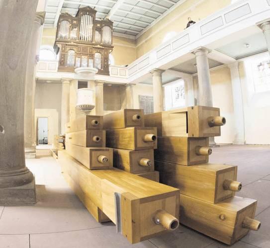 Kirchenrenovierung: Riesenpuzzle für Orgelbauer.